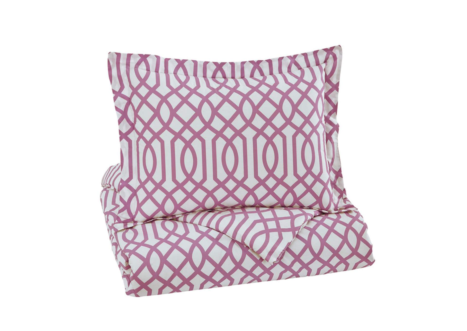 Loomis Lavender Twin Comforter Set,Signature Design By Ashley