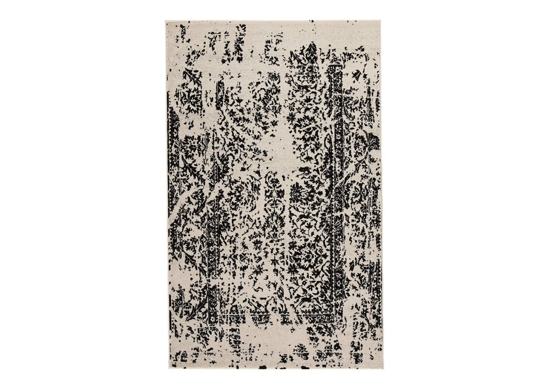 Jag Black/White Medium Rug,Signature Design By Ashley