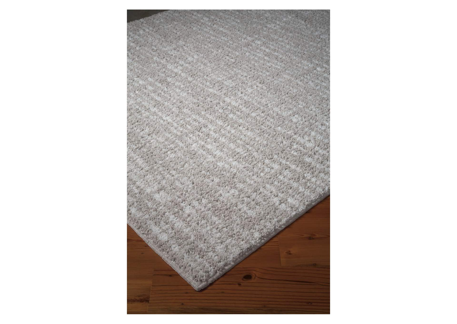 Norris Taupe/White Large Rug,Signature Design By Ashley