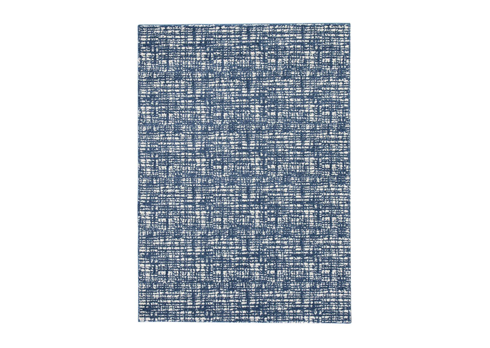 Norris Blue/White Large Rug,Signature Design By Ashley