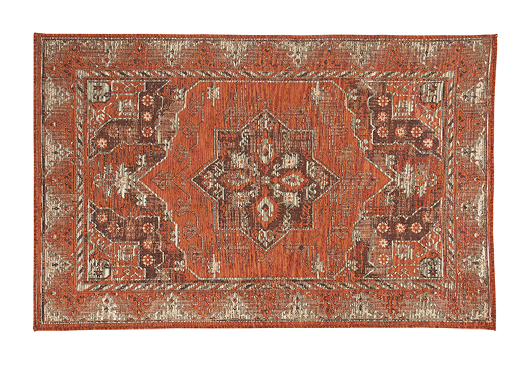 Dalit Rust Medium Rug,Signature Design By Ashley
