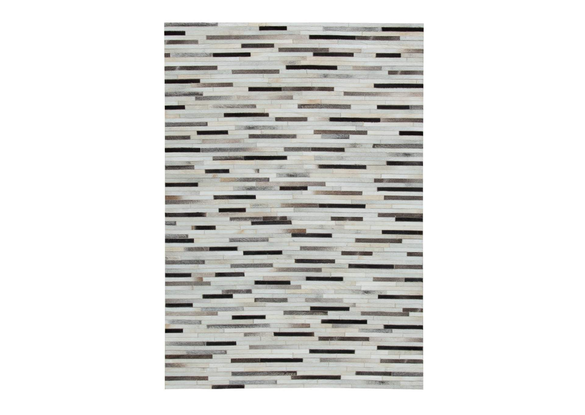 Lebelle White/Black Large Rug,Signature Design By Ashley
