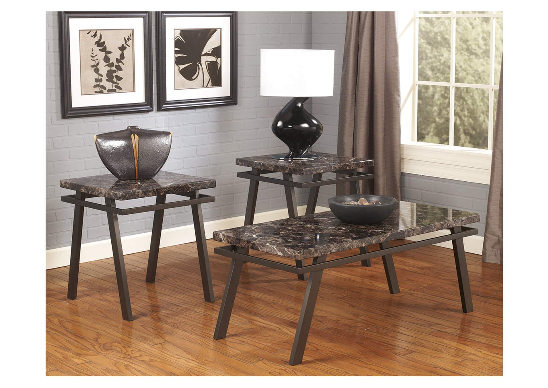 Wine Country Furniture Paintsville Occasional Table Set Cocktail