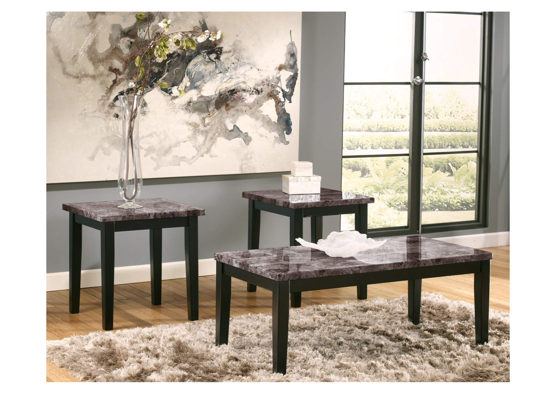 Maysville Occasional Table Set (Cocktail & 2 Ends),Signature Design By Ashley