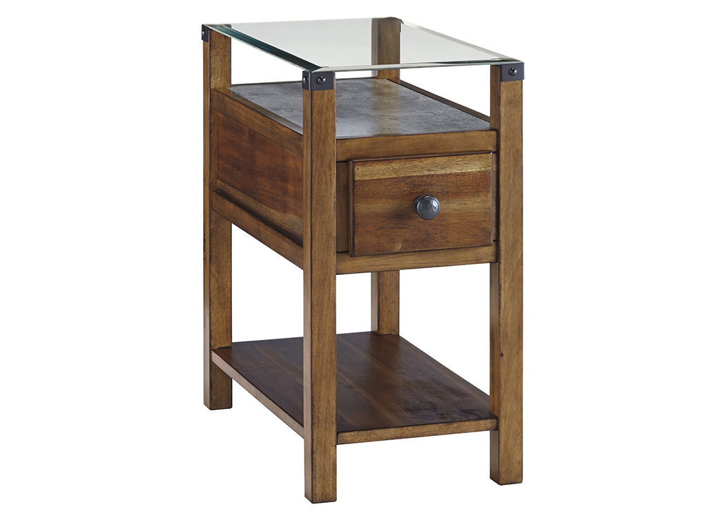 Diamenton Medium Brown Chair Side End Table,Signature Design By Ashley