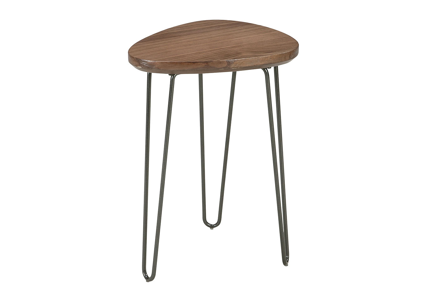 Taft Furniture Sleep Center Courager BrownBlack Triangle - Black triangle end table