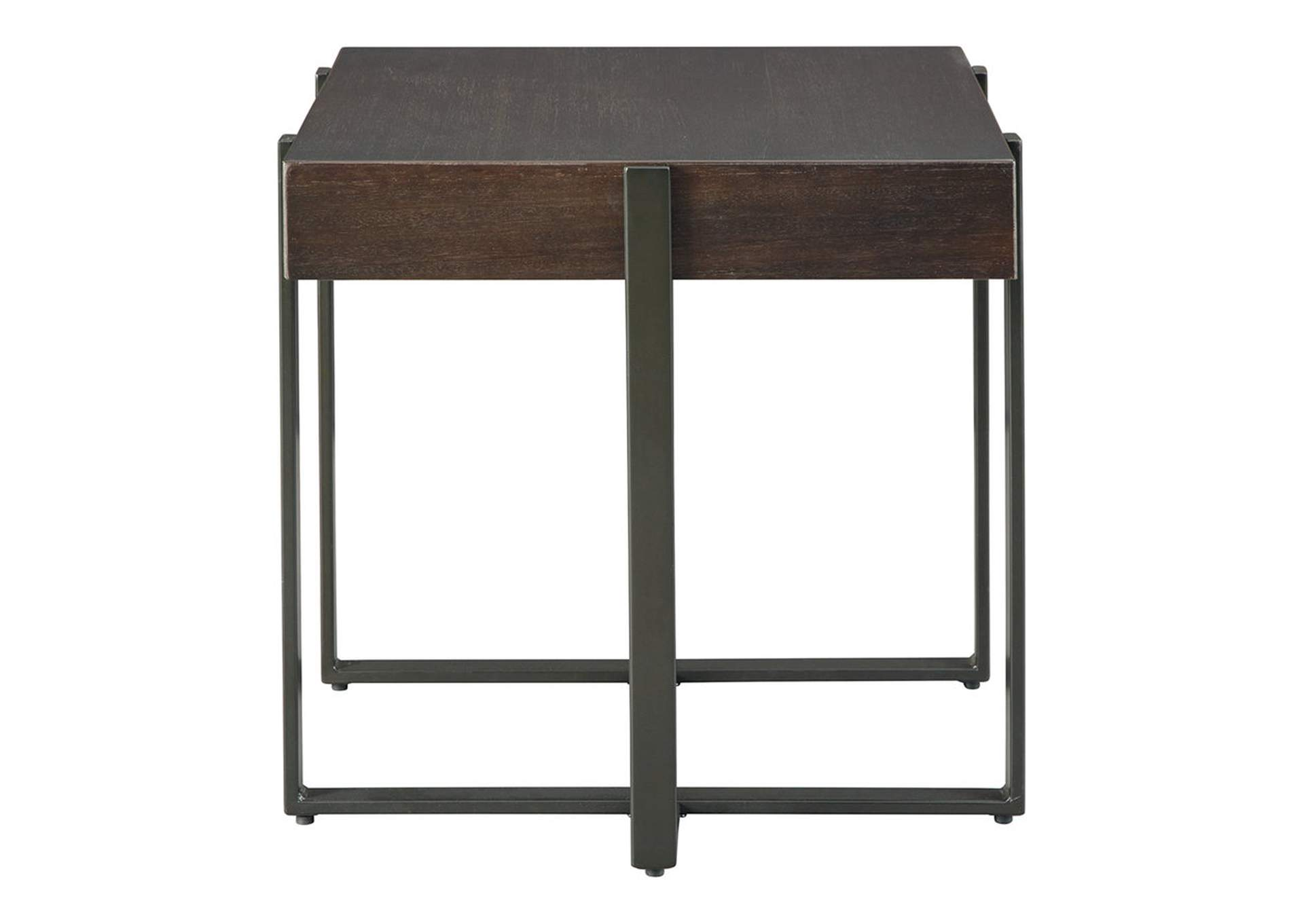 Drewing Brown End Table,Signature Design By Ashley