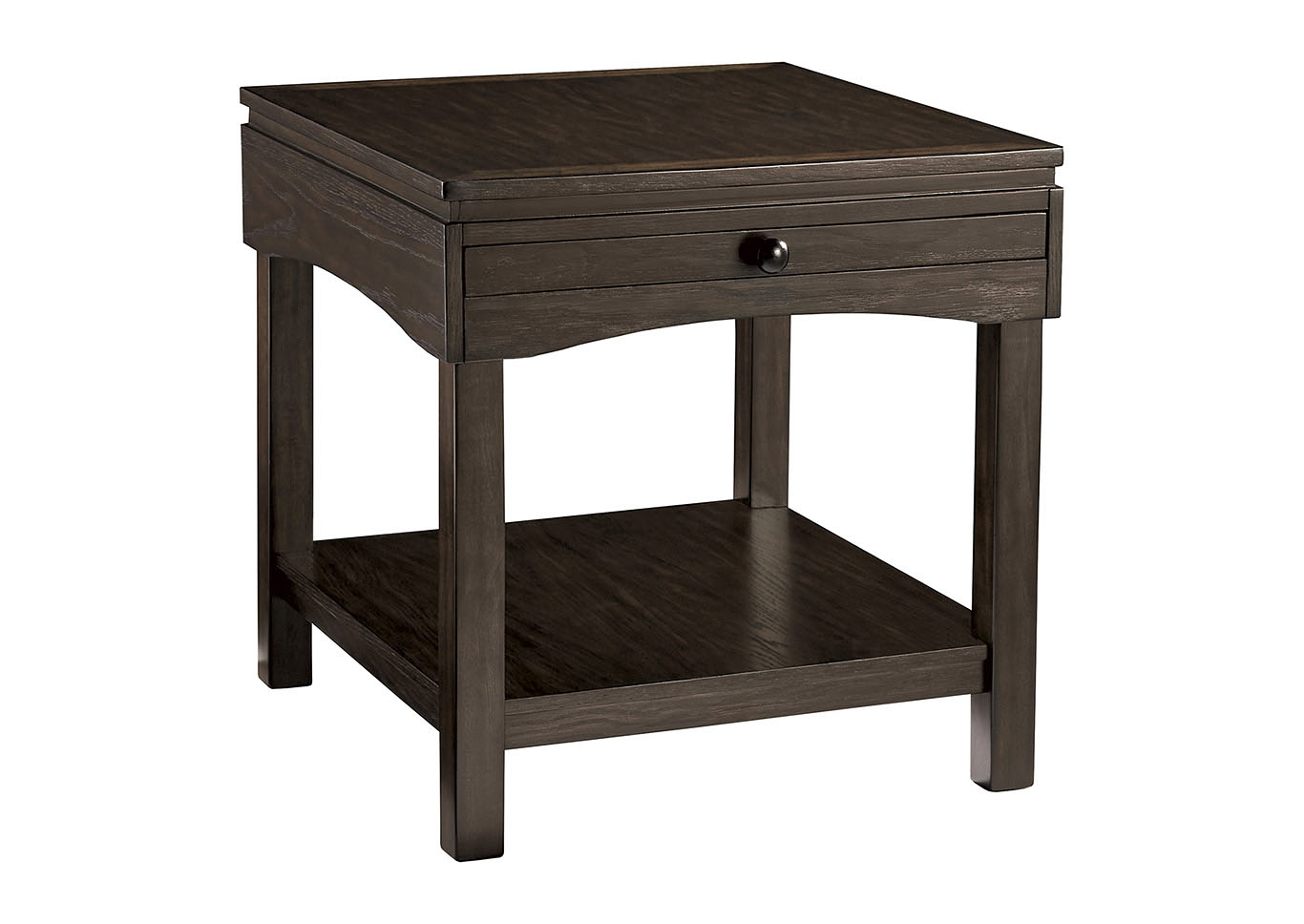 Haddigan Brown Rectangular End Table,Signature Design By Ashley