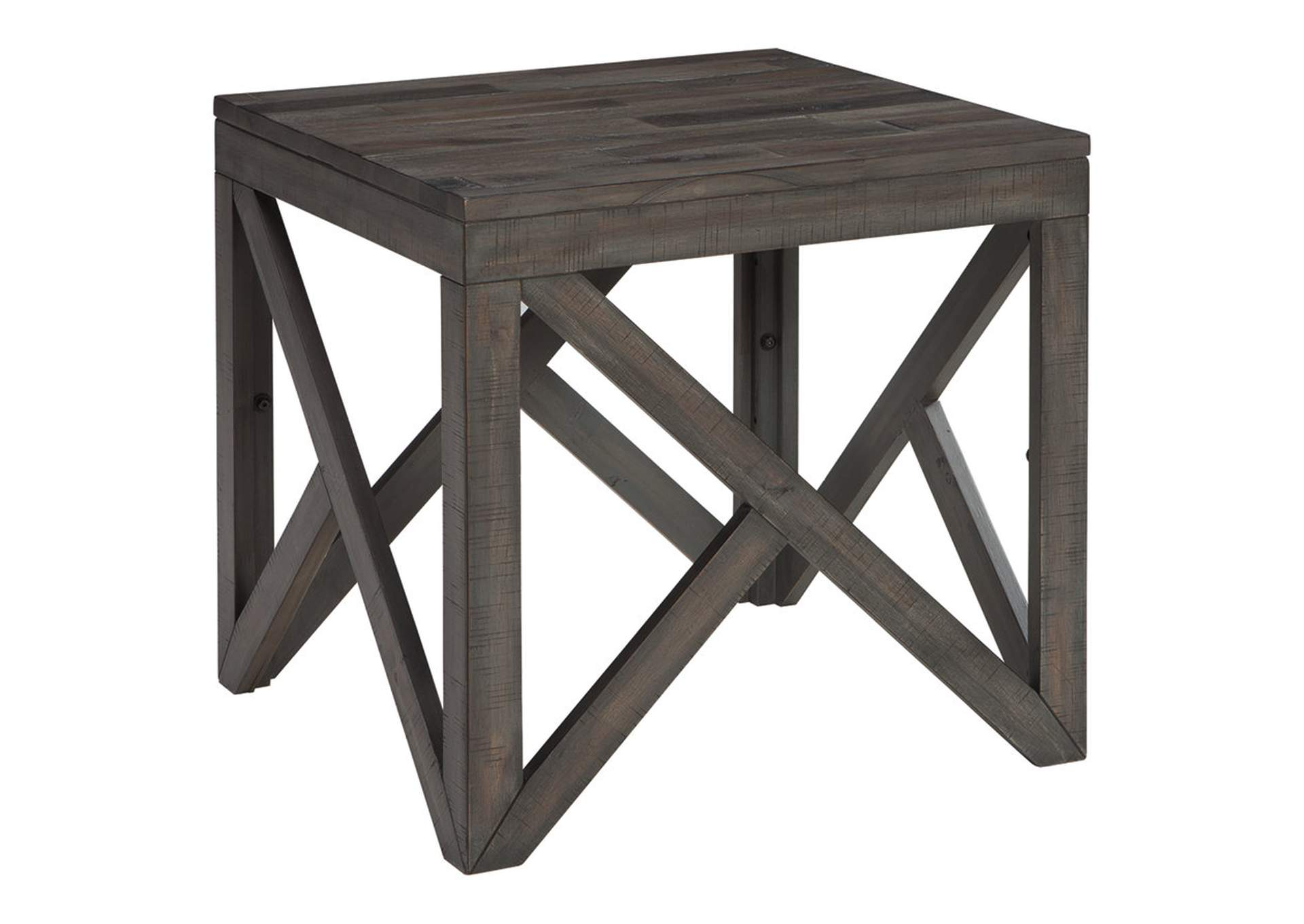 Haroflyn Gray Square End Table,Signature Design By Ashley