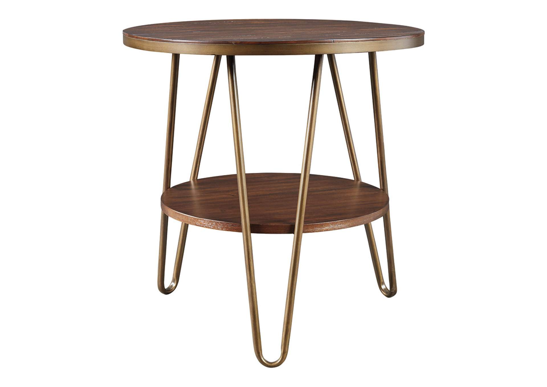 Lettori Brown End Table,Signature Design By Ashley