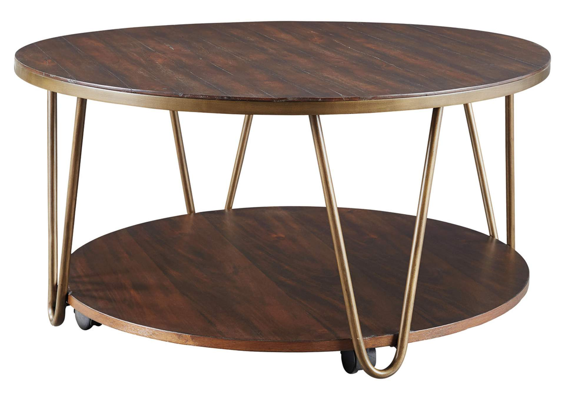 Lettori Brown Coffee Table,Signature Design By Ashley