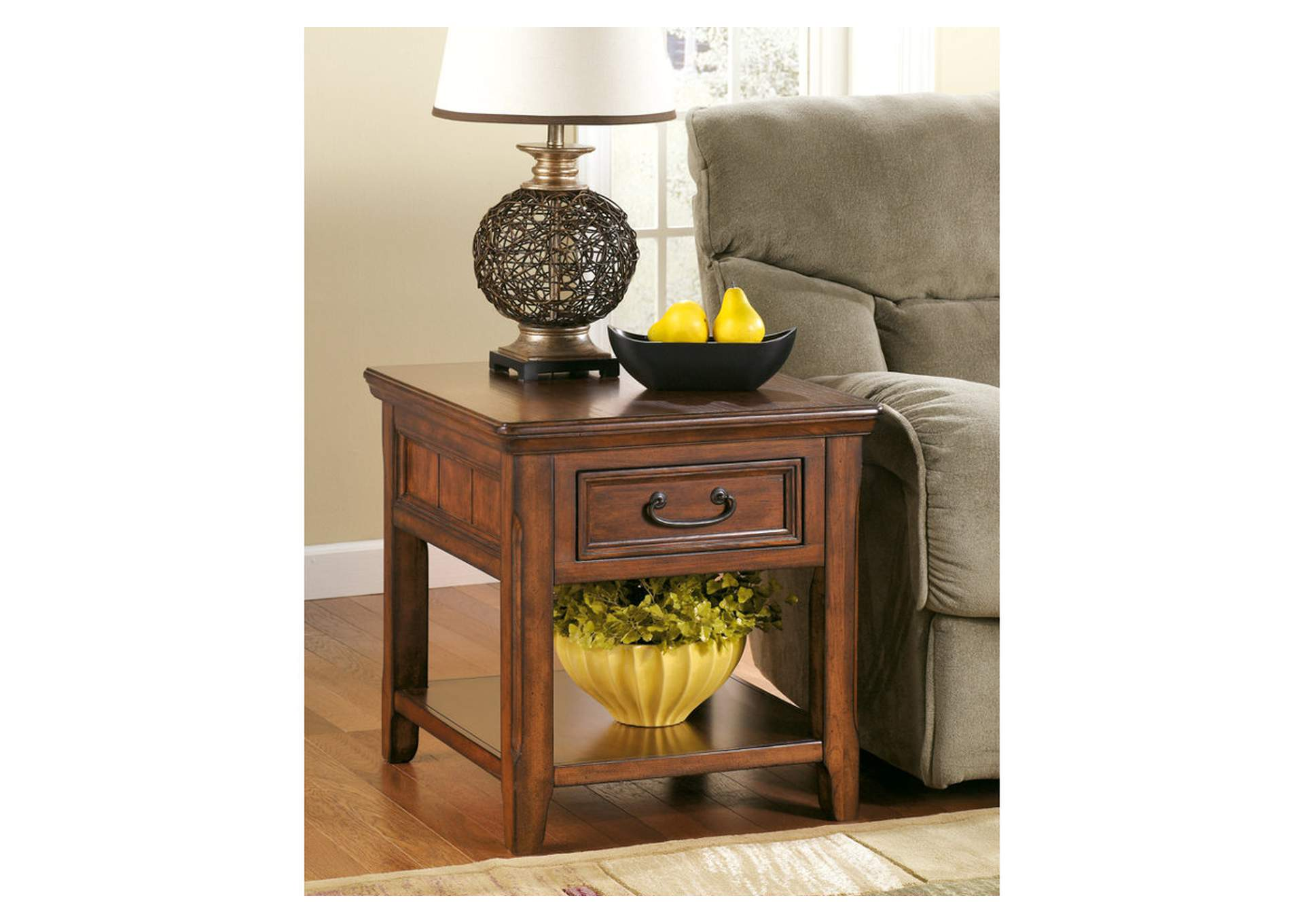 Woodboro Rectangular End Table,Signature Design By Ashley