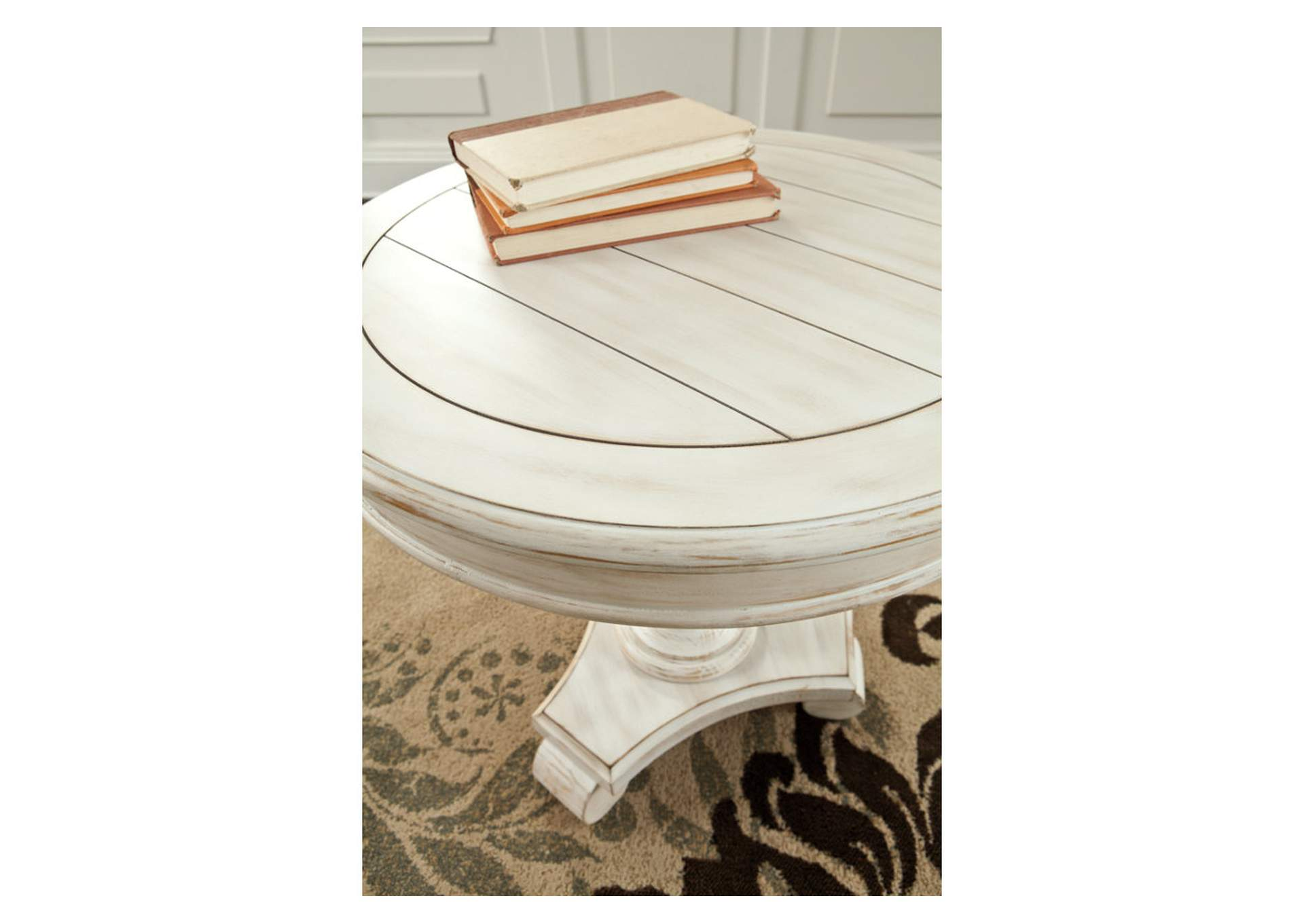 Cottage Accents Round Accent Table,Signature Design By Ashley