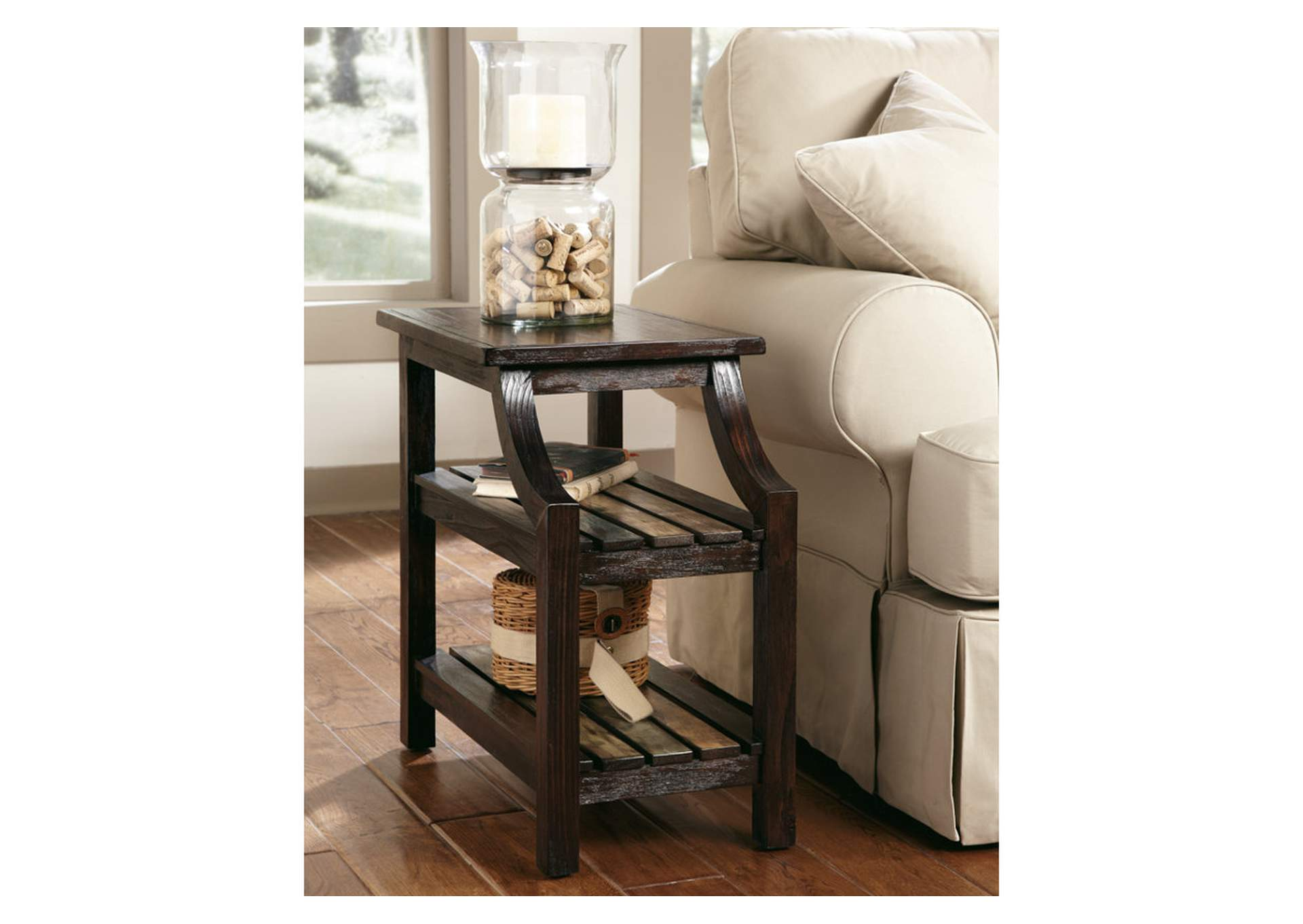 Mestler Chairside End Table,Signature Design By Ashley
