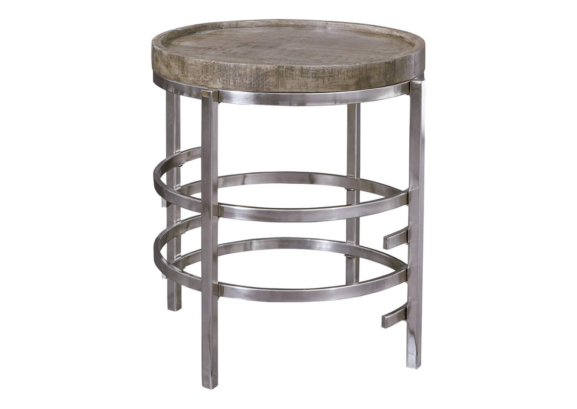 Zinelli Gray End Table,Signature Design By Ashley