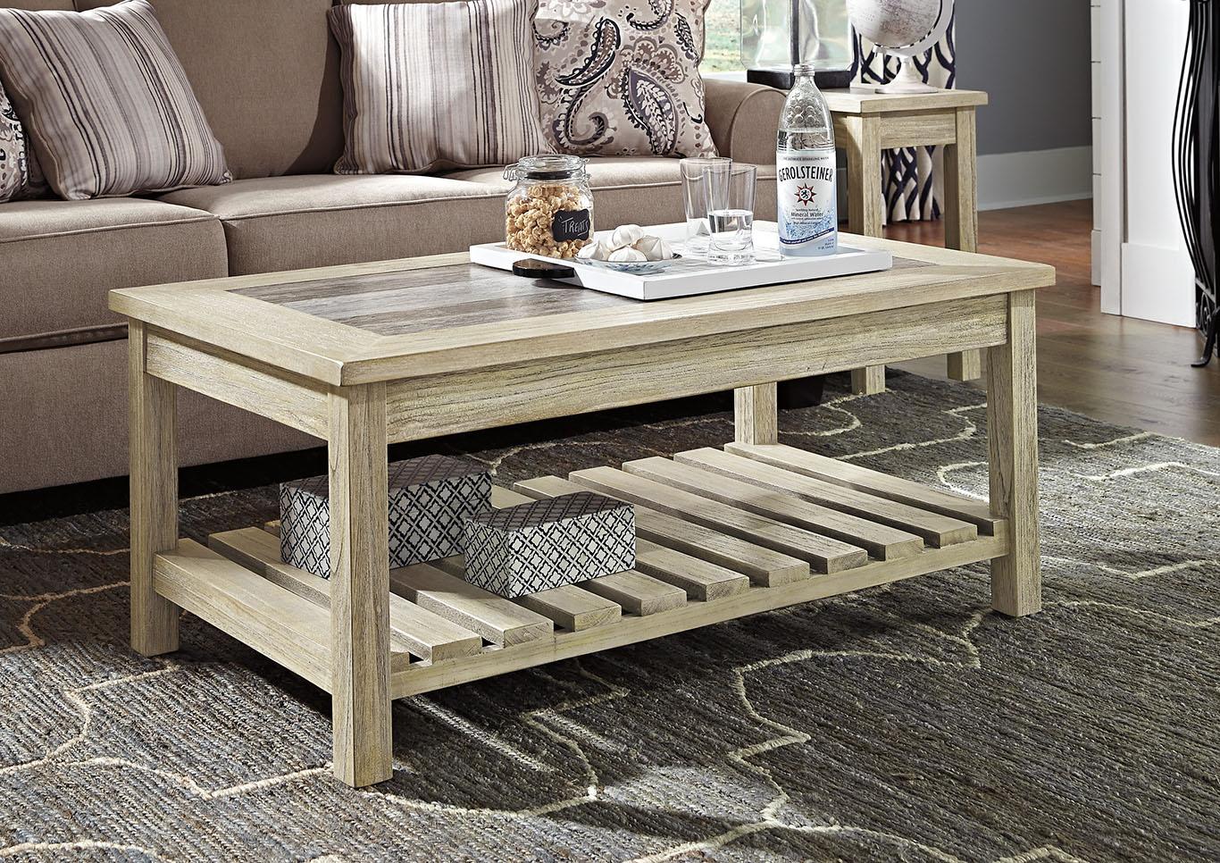 Price Point Furniture Veldar Whitewash Rectangular