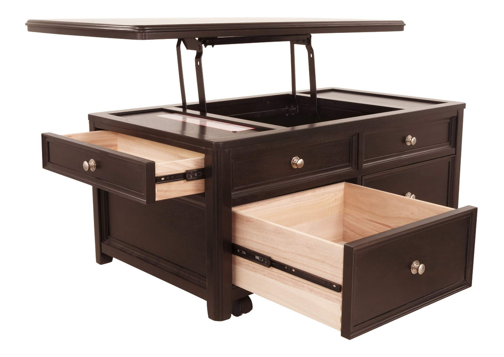 Carlyle Lift-Top Cocktail Table,Signature Design By Ashley