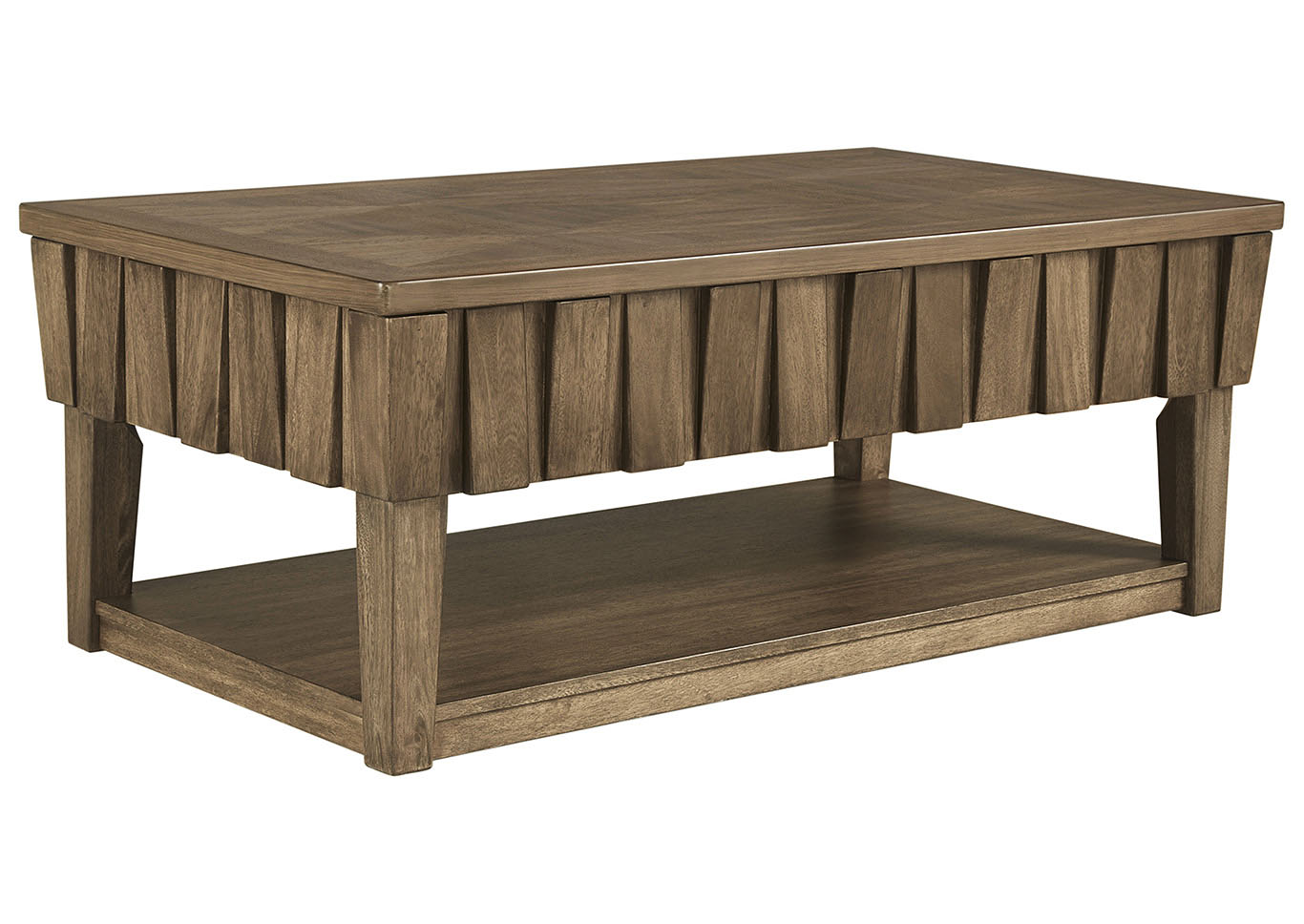 Rowenbeck Brown Lift Top Cocktail Table,Signature Design By Ashley