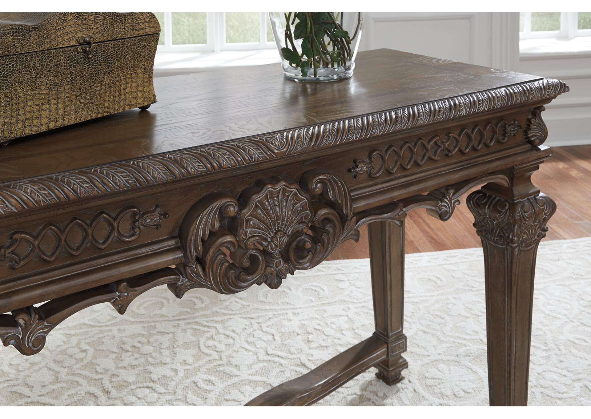 Charmond Brown Console Table,Signature Design By Ashley