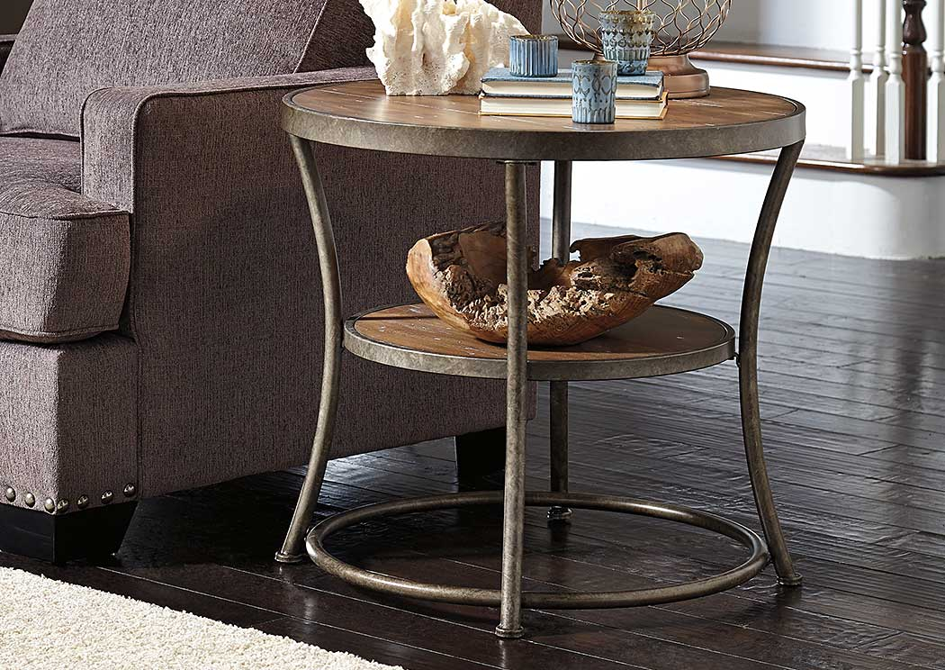Nartina Round End Table,Signature Design By Ashley
