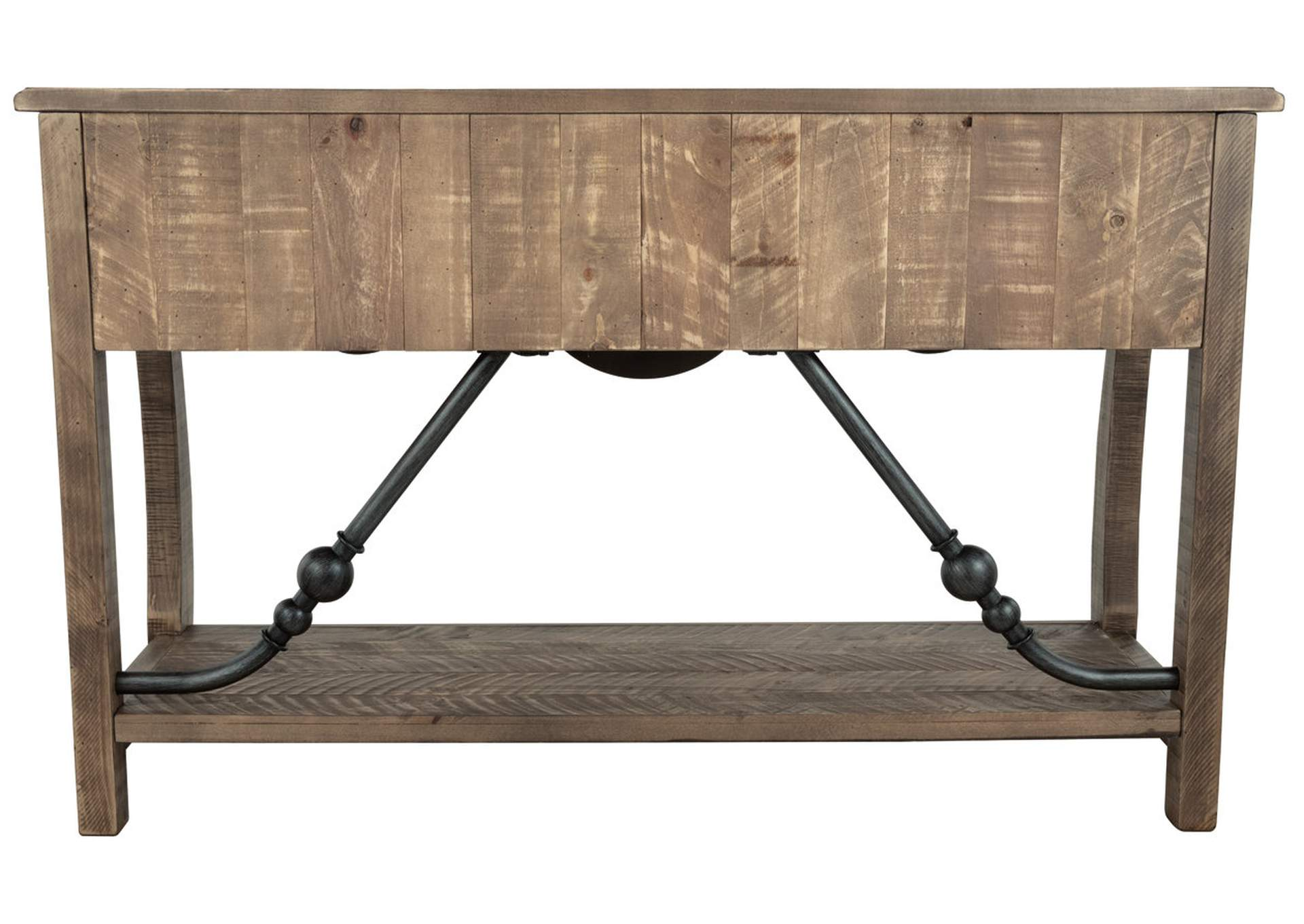 Dazzelton Two-Tone Sofa Table,Signature Design By Ashley
