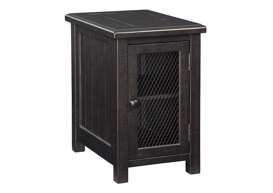 Sharlowe Charcoal Chair Side End Table,Signature Design By Ashley