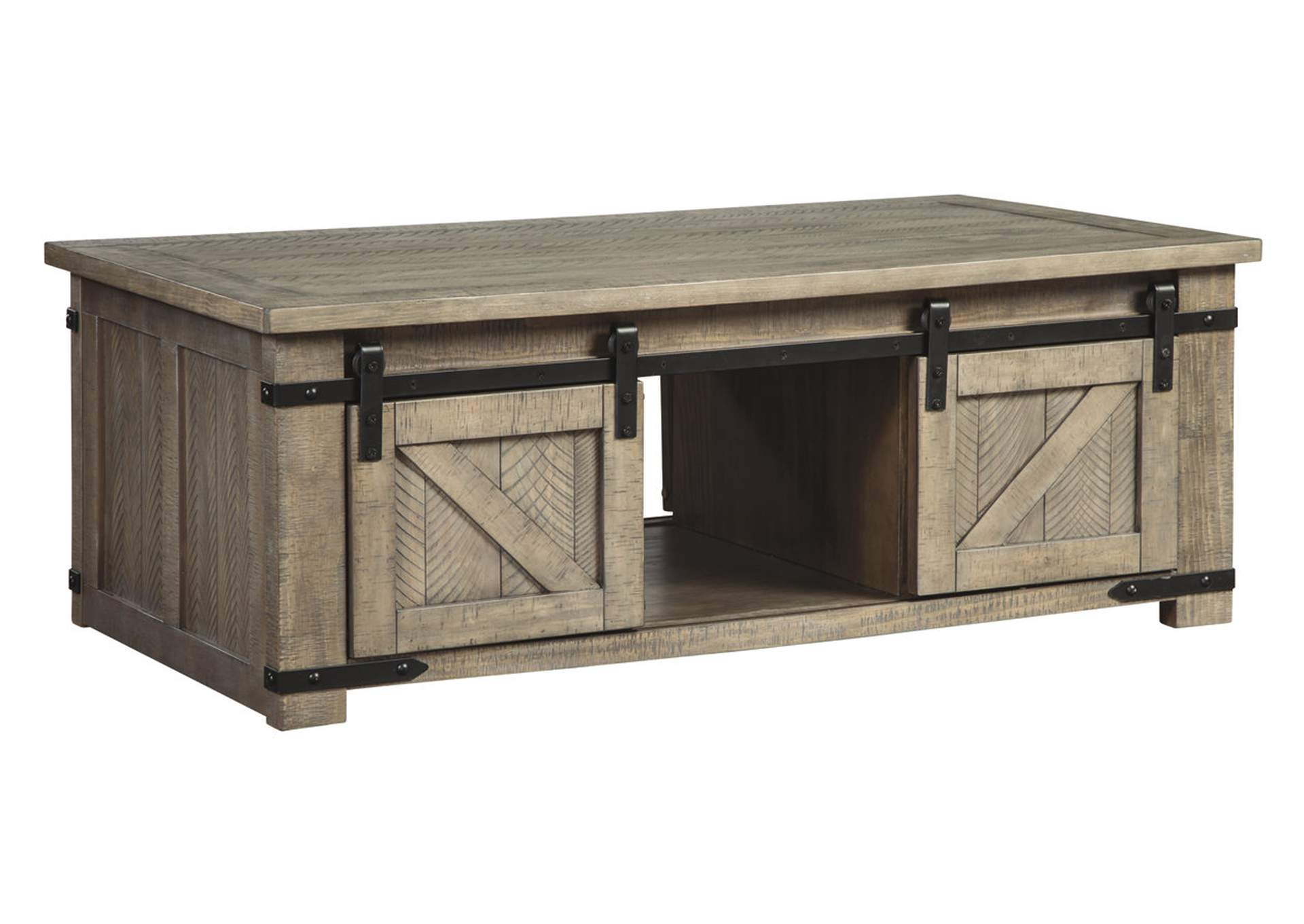 Aldwin Gray Coffee Table,Signature Design By Ashley