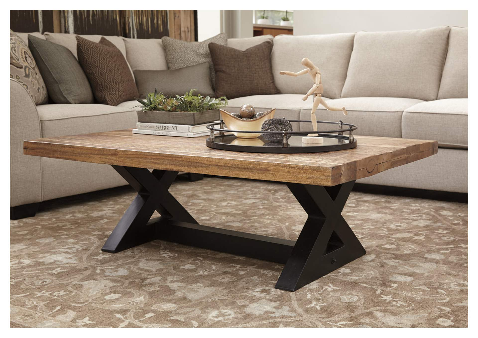Wesling Rectangular Cocktail Table,Signature Design By Ashley