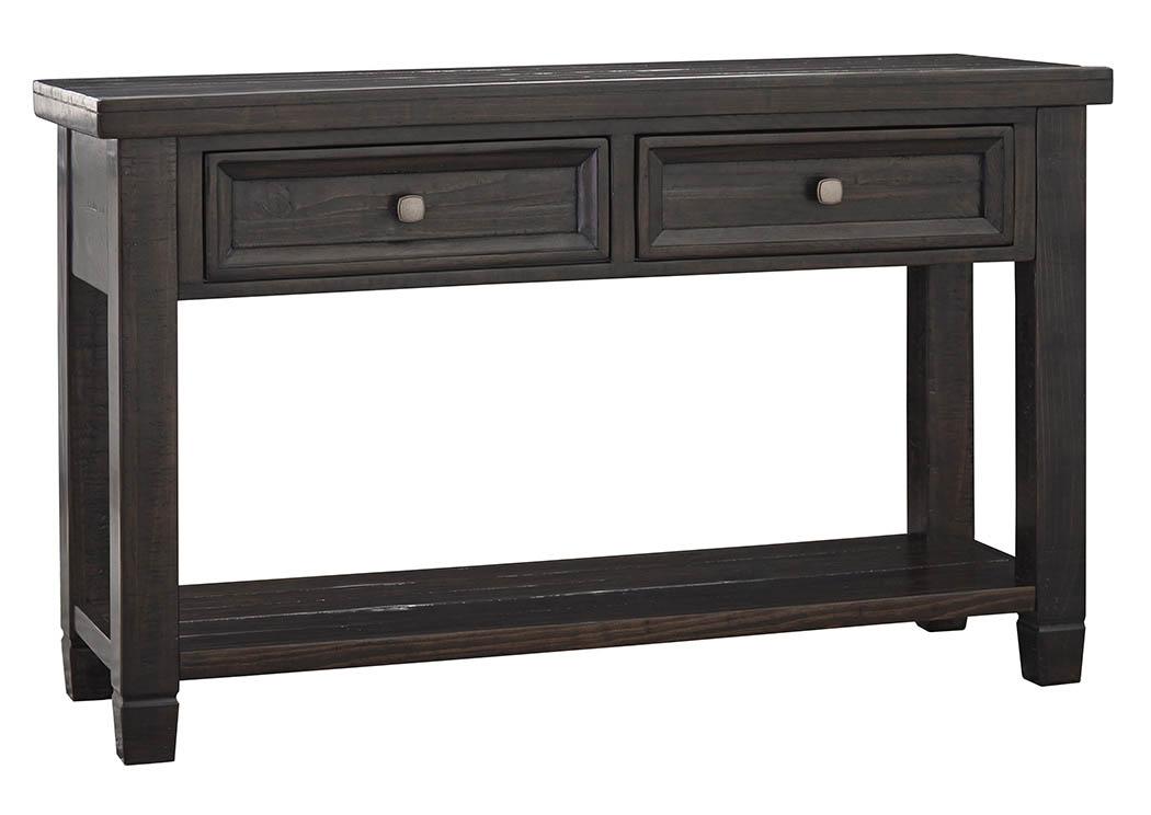 Ivan Smith Townser Grayish Brown Sofa Table