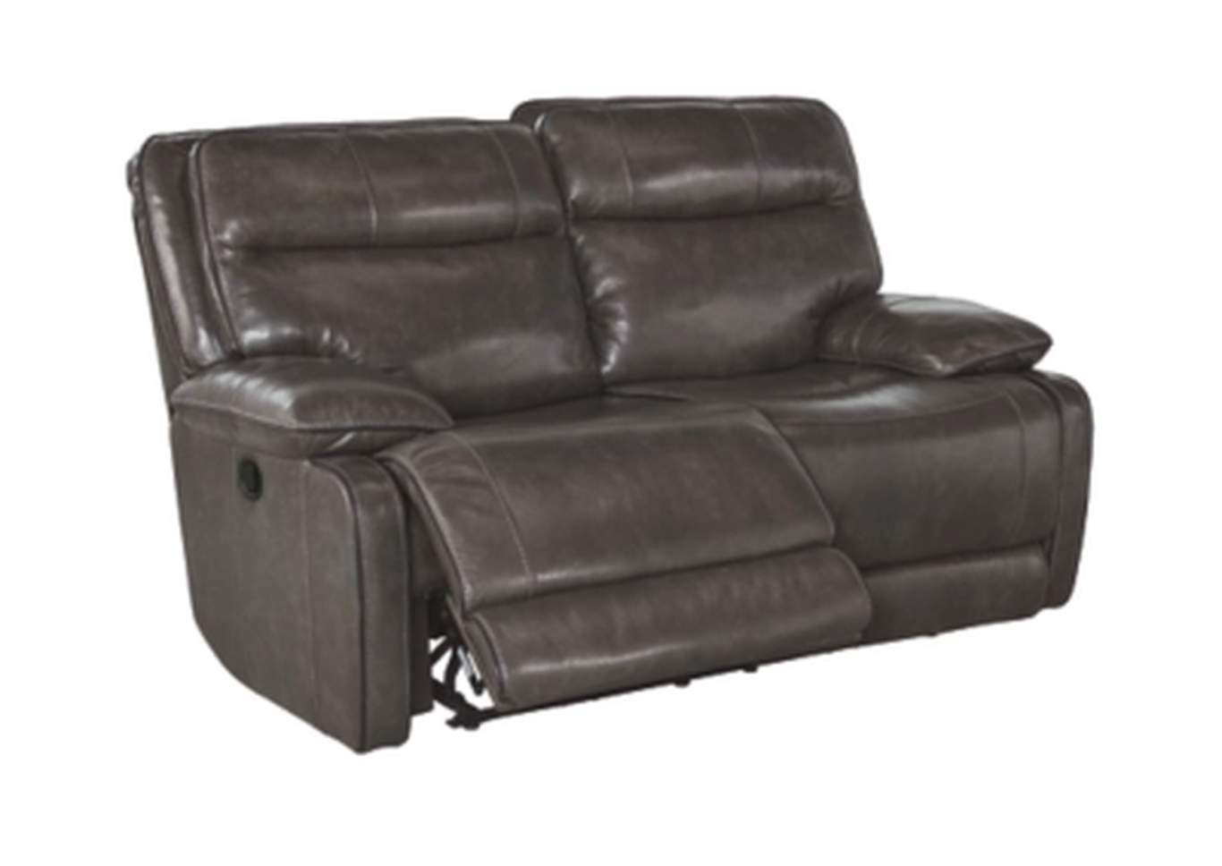Palladum Metal Reclining Loveseat,Signature Design By Ashley