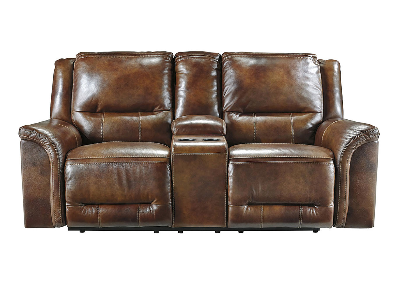 Jayron Harness Double Reclining Loveseat w/Console,Benchcraft
