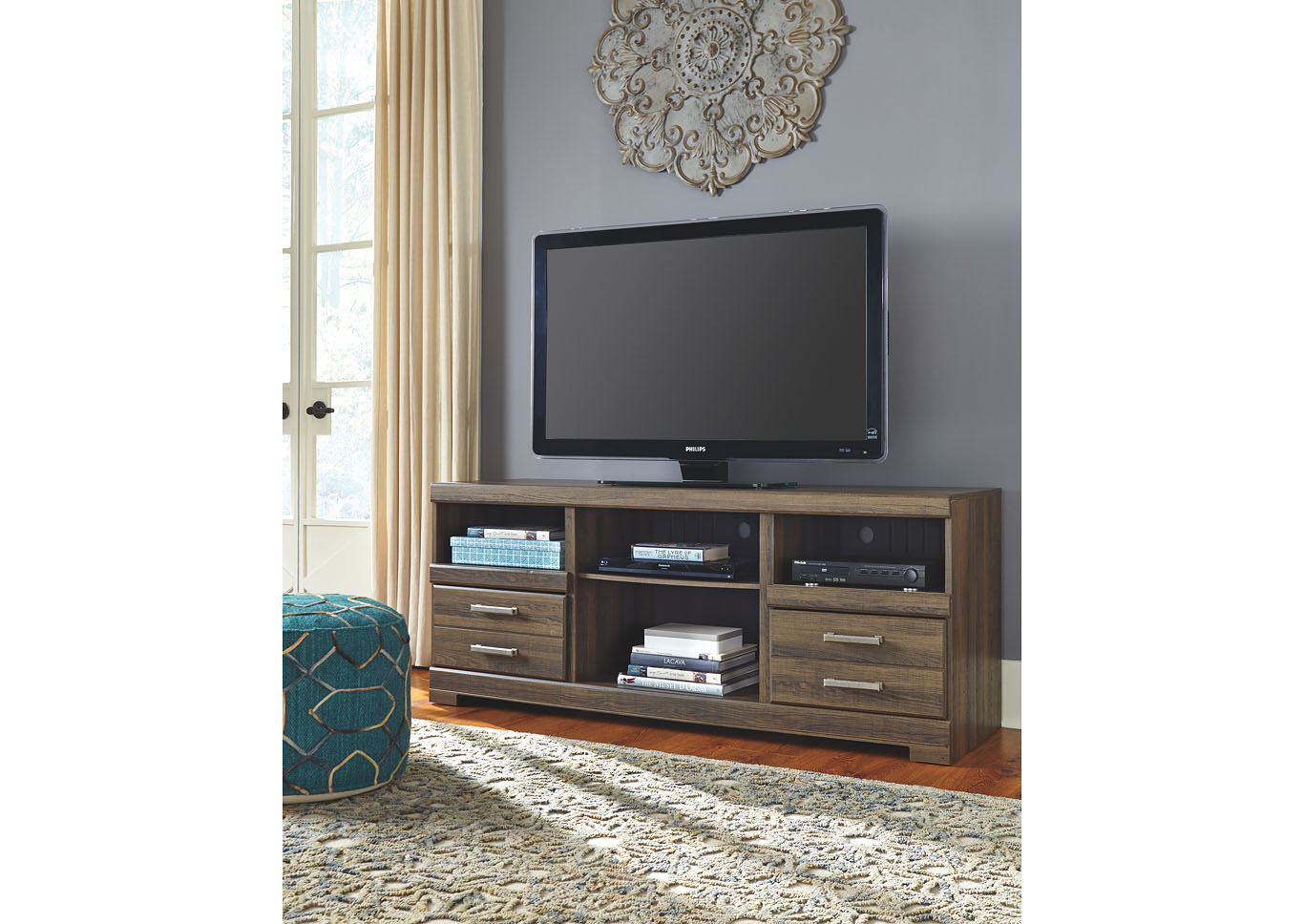 bob hoch 39 s home furnishings lebanon pa frantin large tv stand. Black Bedroom Furniture Sets. Home Design Ideas