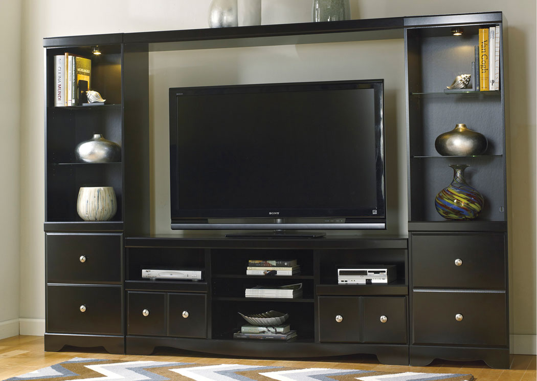 bedroom sofa shay entertainment center. Black Bedroom Furniture Sets. Home Design Ideas