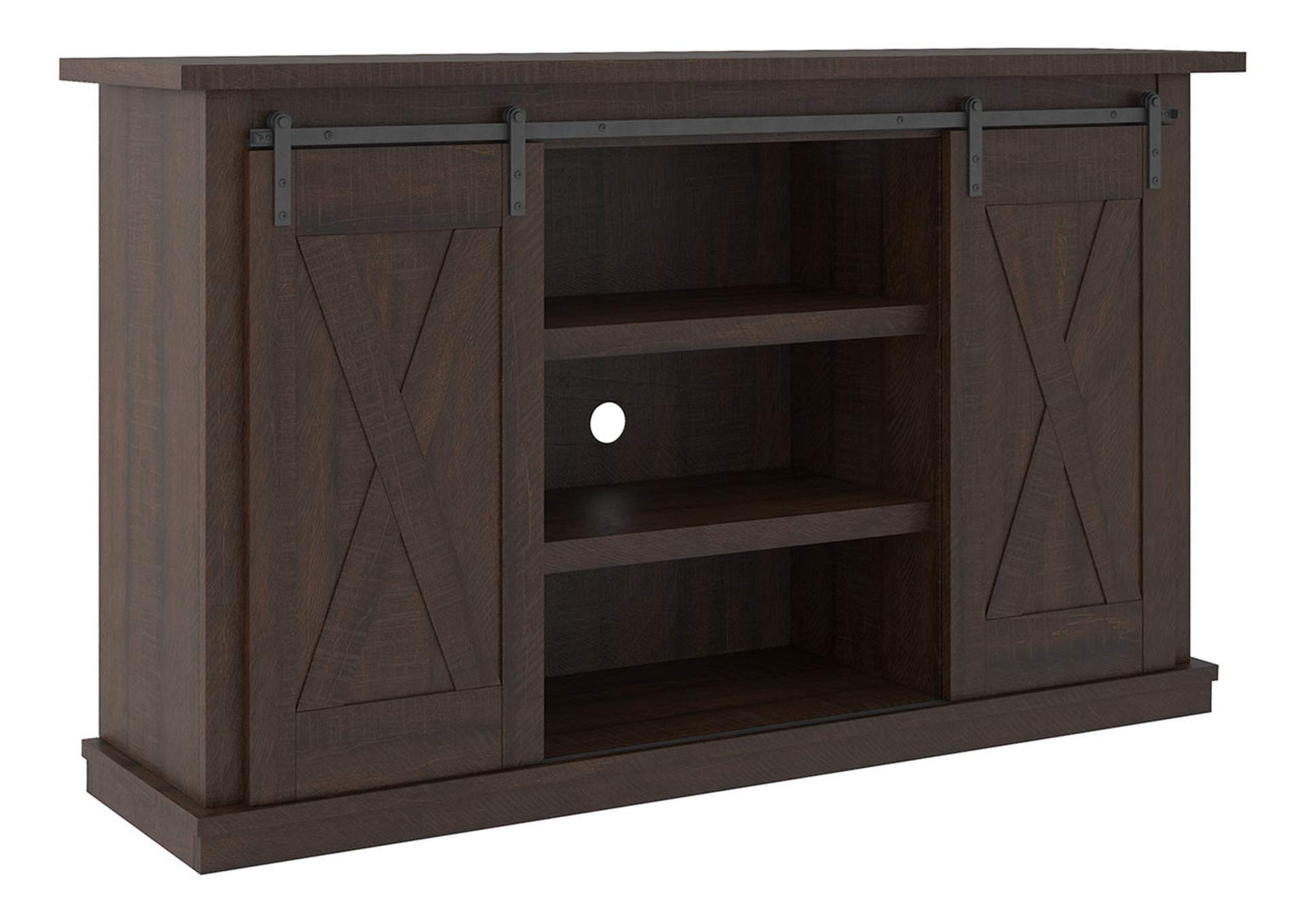 "Camiburg Warm Brown 54"" TV Stand,Signature Design By Ashley"