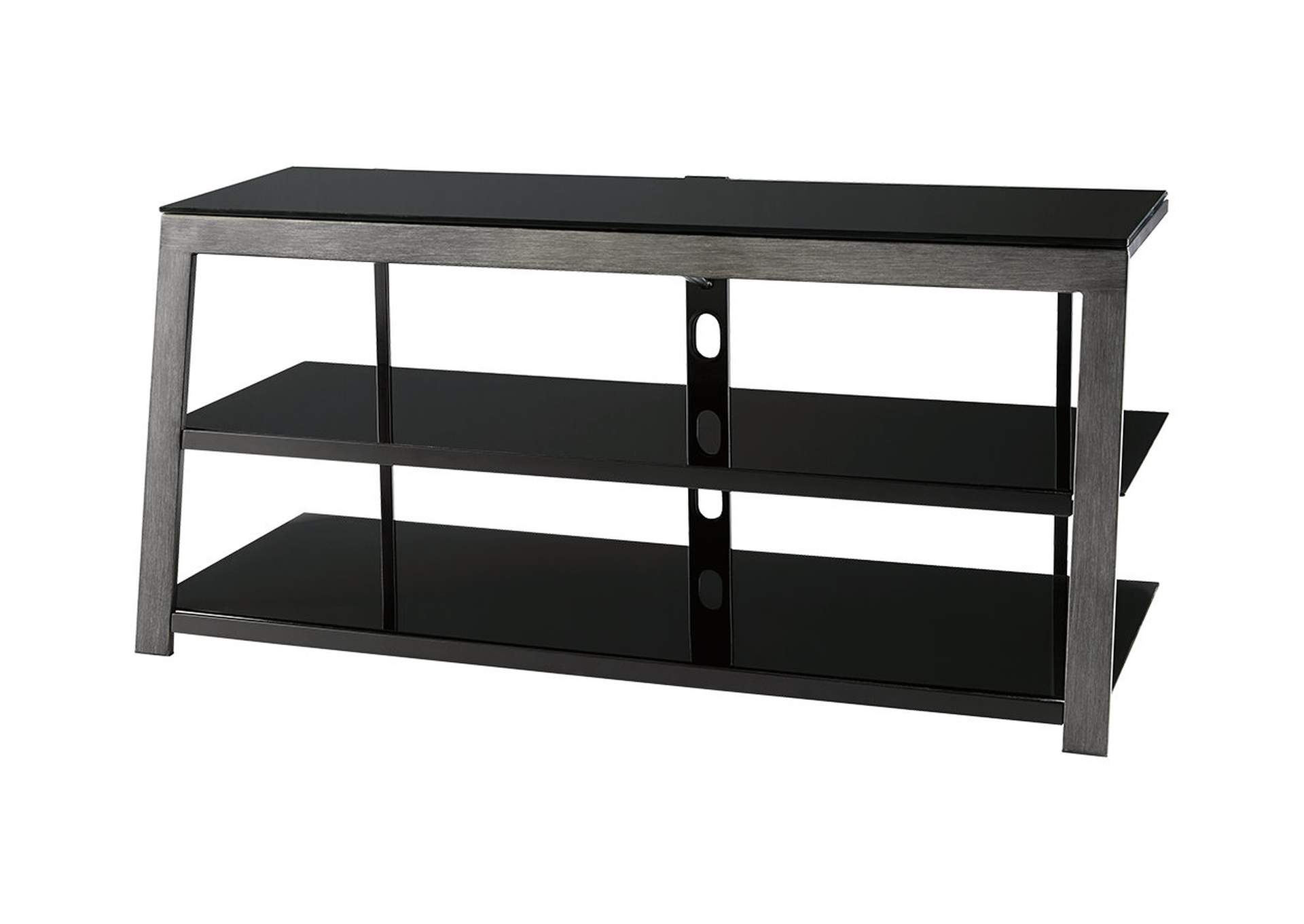 Rollynx Black TV Stand,Signature Design By Ashley
