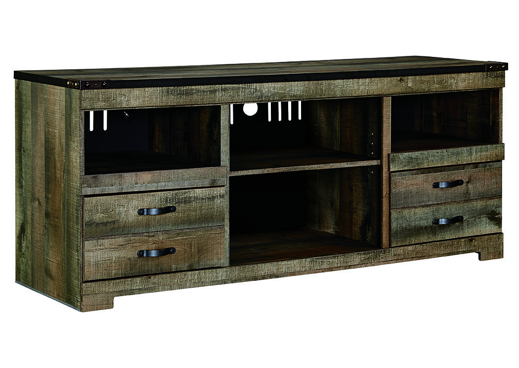 Best Buy Furniture And Mattress Trinell Brown Large Tv Stand