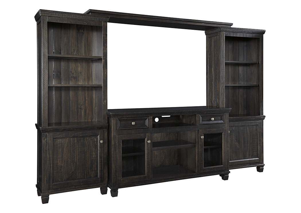 Townser Grayish Brown Entertainment Center,Signature Design By Ashley
