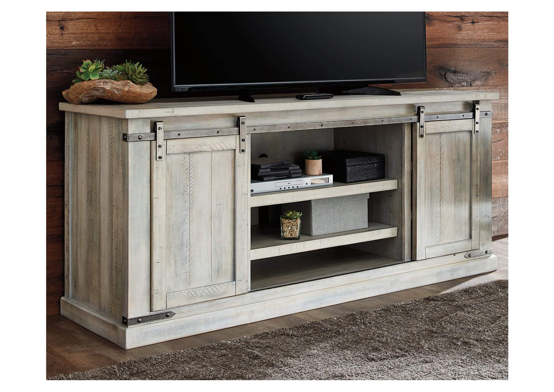 "Carynhurst 70"" TV Stand,Signature Design By Ashley"