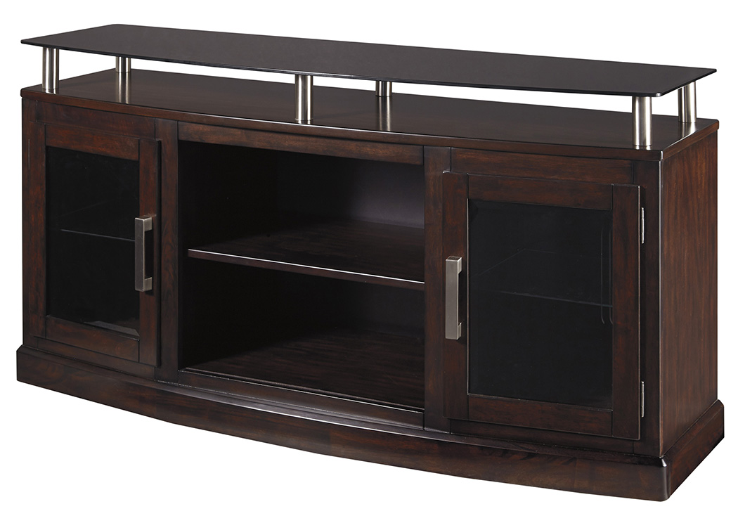 Chanceen Dark Brown Medium TV Stand,Signature Design By Ashley
