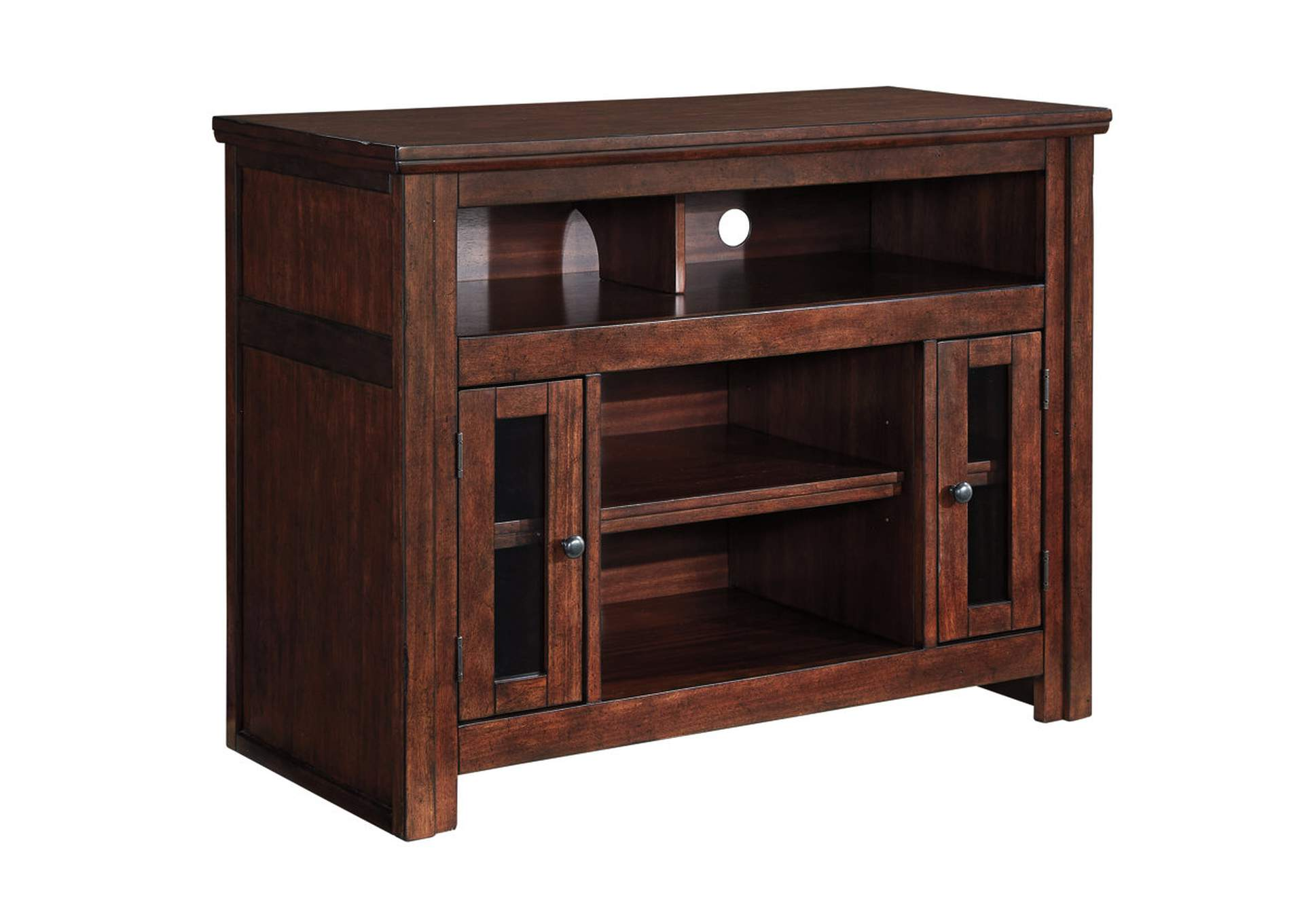 Harpan Reddish Brown TV Stand,Signature Design By Ashley