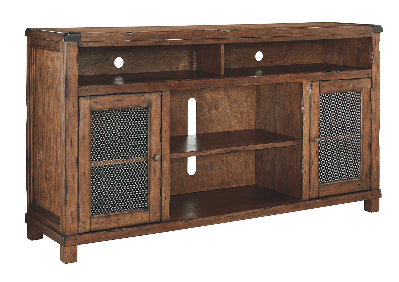Tamonie Rustic Brown XL TV Stand,Signature Design By Ashley