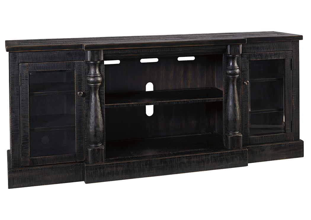 Mallacar Black Extra Large TV Stand,Signature Design By Ashley
