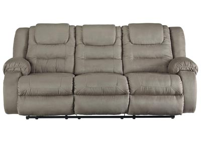 McCade Cobblestone Reclining Sofa,Signature Design By Ashley