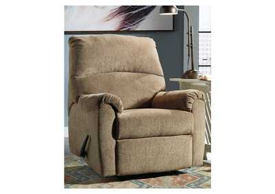 Image for Nerviano Mocha Recliner