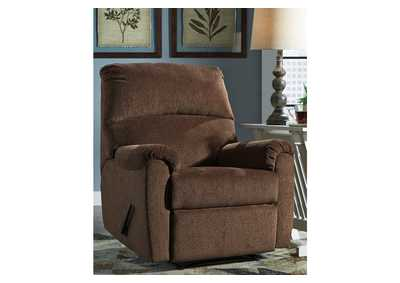 Image for Nerviano Chocolate Recliner