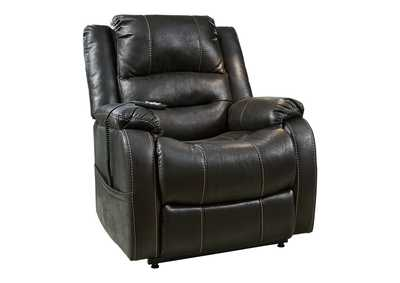 Image for Yandel Black Power Lift Recliner