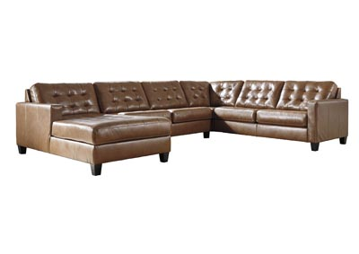 Image for Baskove Auburn Left-Arm Facing Chaise Sectional