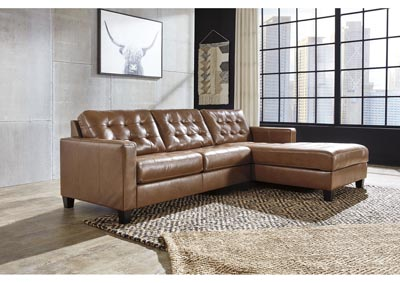 Baskove Auburn Left-Arm Facing Sofa Chaise,Signature Design By Ashley