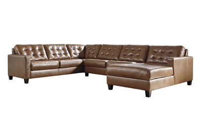 Baskove Auburn Left-Arm Facing Chaise Sectional