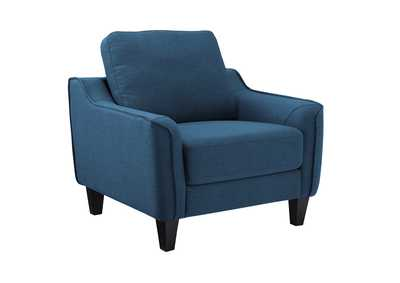 Jarreau Blue Chair,Signature Design By Ashley